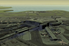 3D Airport 1 (screenshot from 3D Animated video)